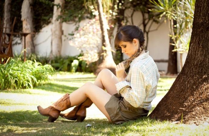Beleza natural e lugares exóticos são tendências em ensaio fotográfico feminino