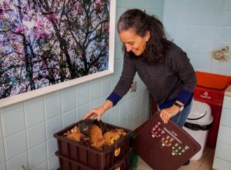 Composteira é solução prática para reaproveitamento do lixo úmido