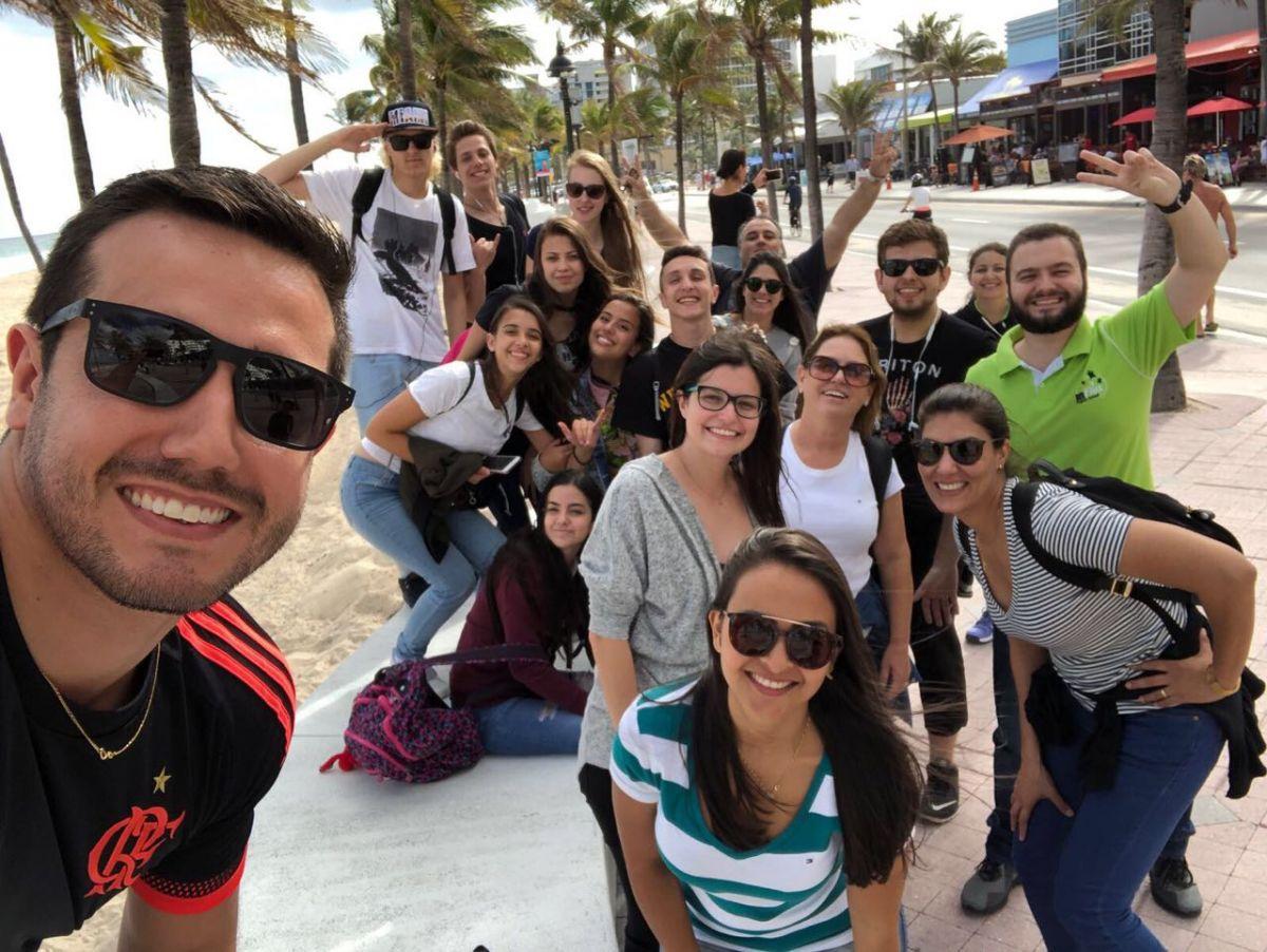 Alunos e professores da inFlux na Flórida - EUA - Foto Divulgação (4)