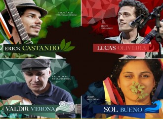 """Show Rosa dos Ventos traz a Uberlândia """"cantautores"""" de norte a sul"""