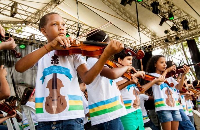 Orquestra Jovem de Uberlândia ensina cidadania por meio da música