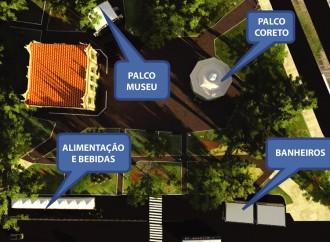 Estrutura do Fundinho Festival começa a ser montada em Uberlândia nesta segunda (30)