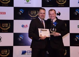 inFlux Uberlândia recebe Prêmio Melhores do Ano – Top 100 2018