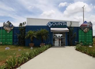 Estande de vendas do Quinta Alto Umuarama é modelo em sustentabilidade