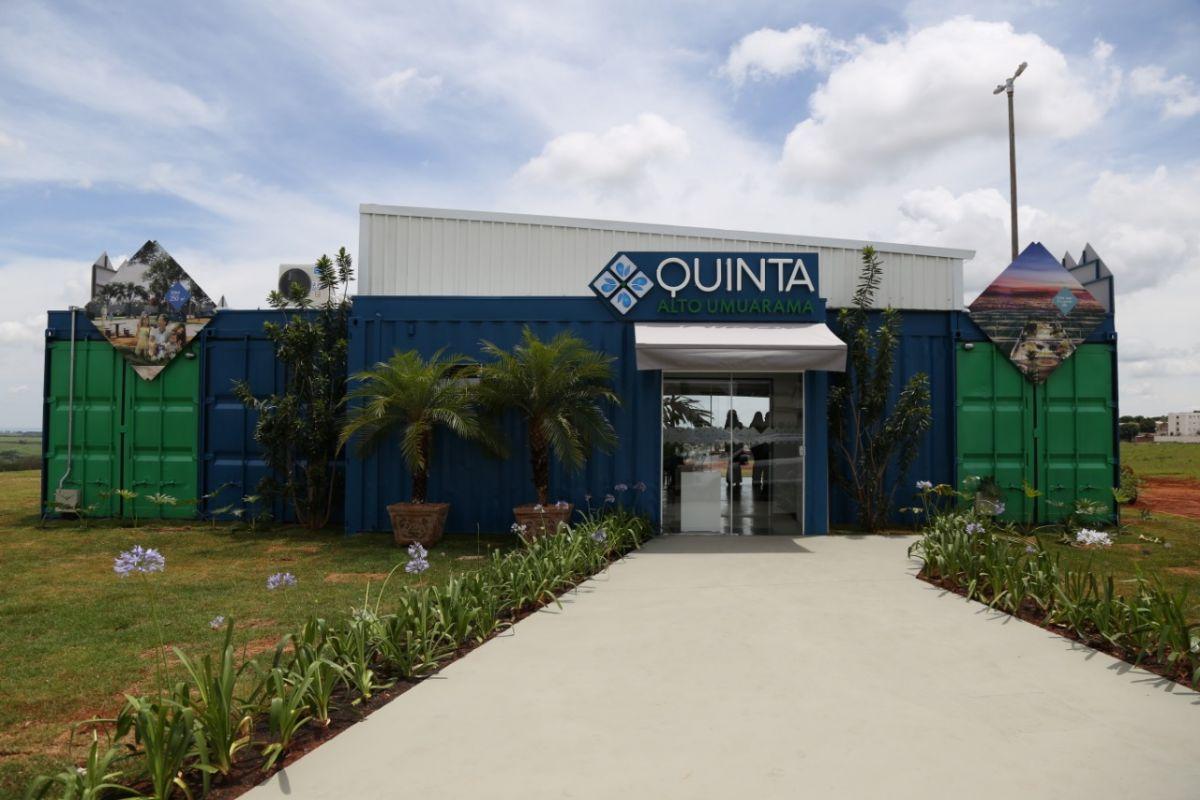 Estande de vendas Quinta Alto Umuarama