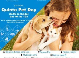 Quinta Pet Day é neste sábado (29) em Uberlândia
