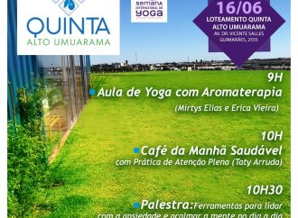 Quinta Alto Umuarama convida para atividades gratuitas de Yoga