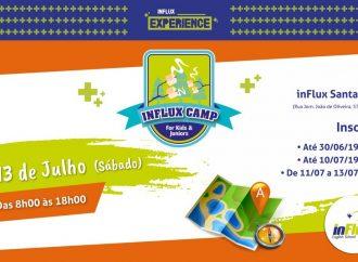 inFlux Camp em Uberlândia é neste sábado (13)